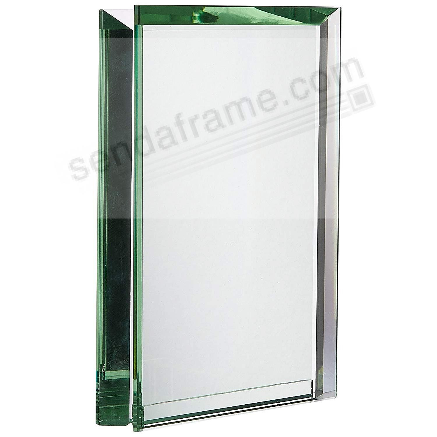 Emerald bevelled glass block 39 floats 39 your photo picture for Glass block window frame