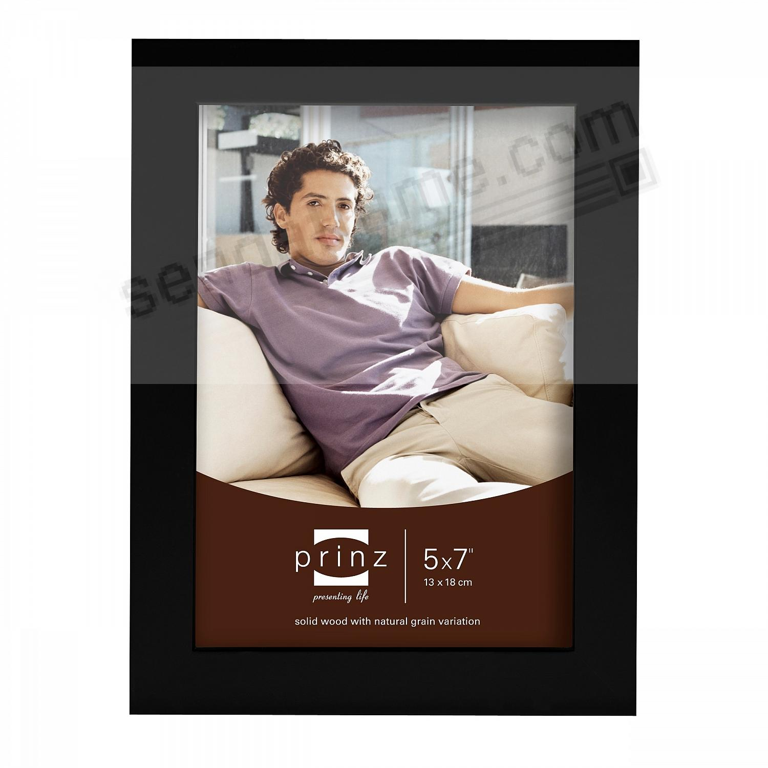 CAROLINA Black 5x7 frame from Prinz®