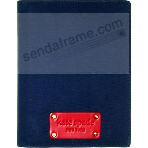 The Original ANNE brag book in navy-blue & red by kate spade®