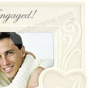 Were Engaged 6x4 Frame For The New Couple Picture Frames Photo