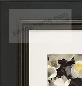 blackbrown palladio wood frame matted 16x2011x14 from artcare by nielsen