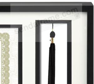 the commendable diploma frame with tassel holder by prinz main view detail - Diploma Frames With Tassel Holder