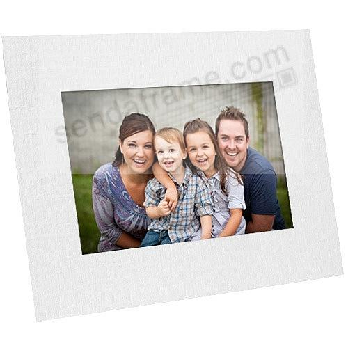 White Paper Cardstock Photo Easel 4x6 Frame w/plain border (sold in ...