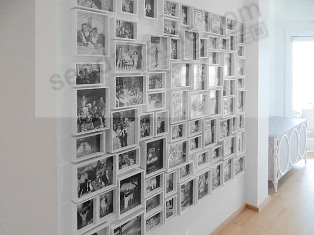 Adorable 25 large collage picture frames for wall for How to make a large picture frame