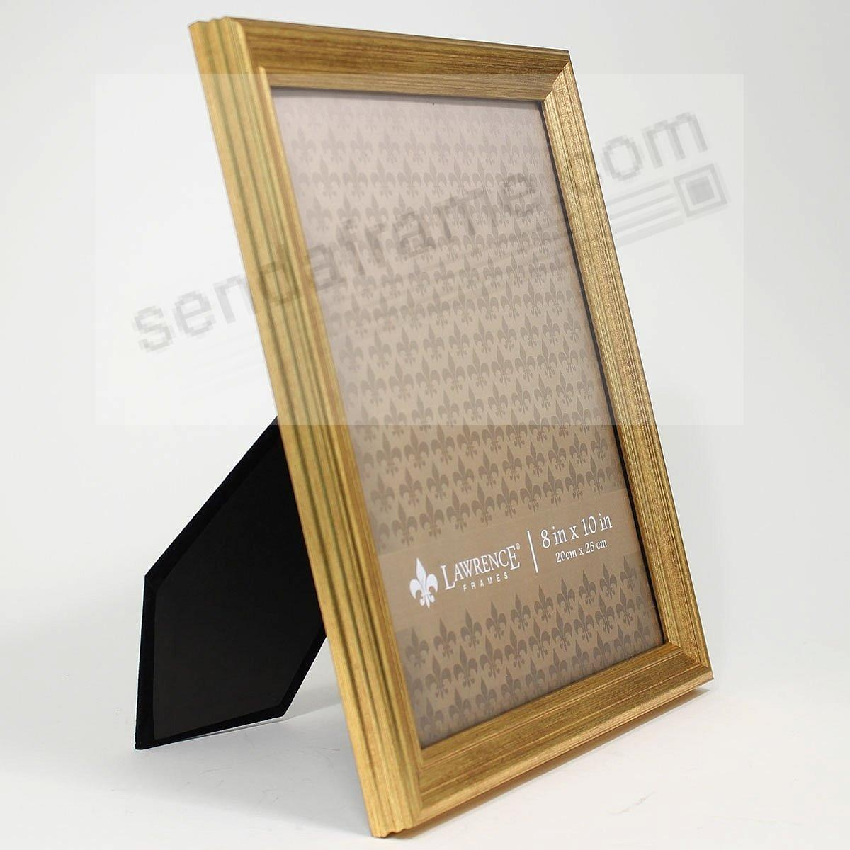 SUTTER Burnished Gold Composite-Wood 4x6 frame by Lawrence ...
