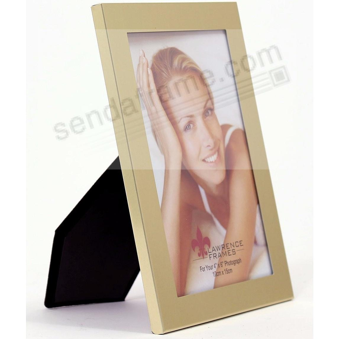 Brushed Gold aluminum frame by Lawrence® - Picture Frames, Photo ...
