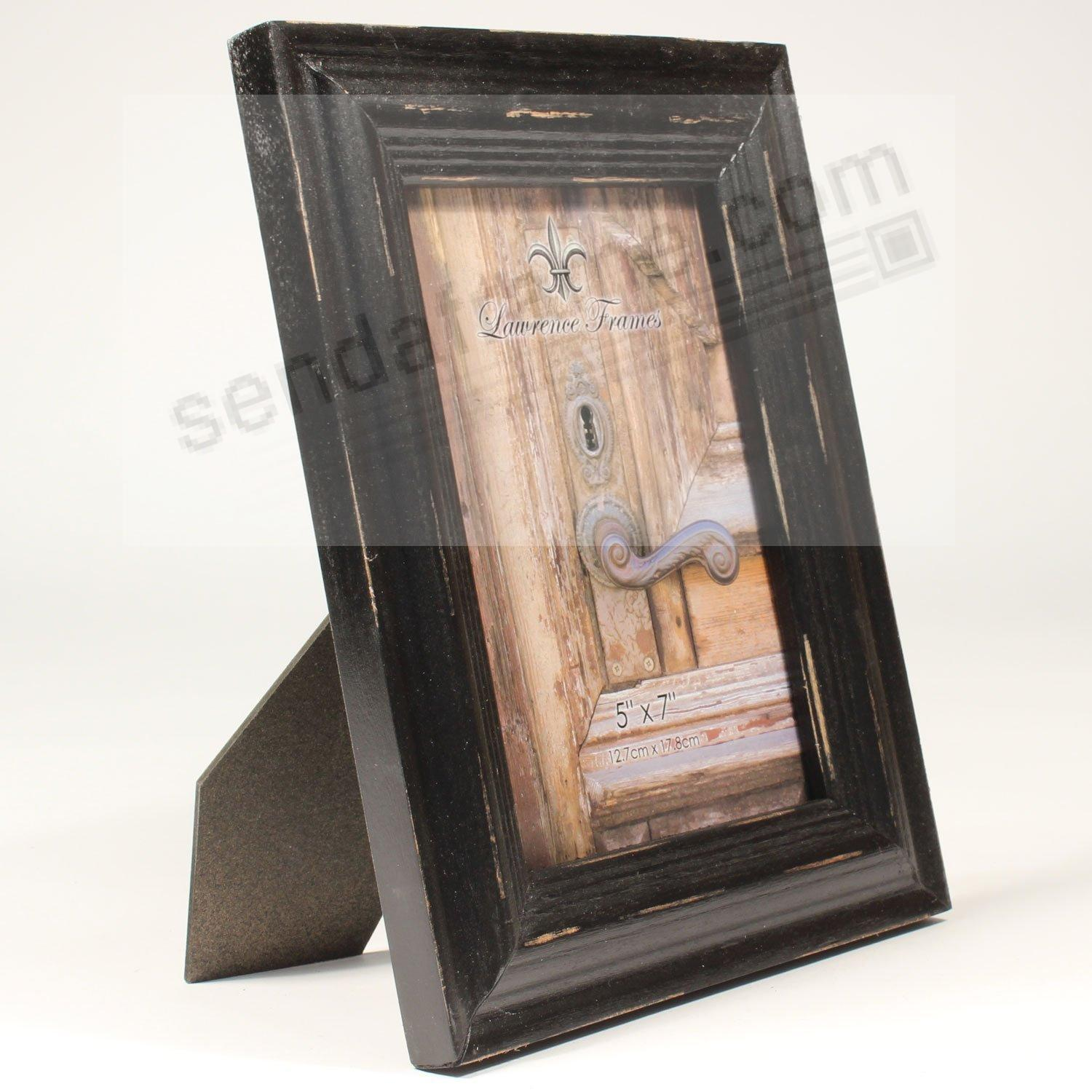 SUNWASHED BLACK 5x7 frame by Lawrence® - Picture Frames, Photo ...