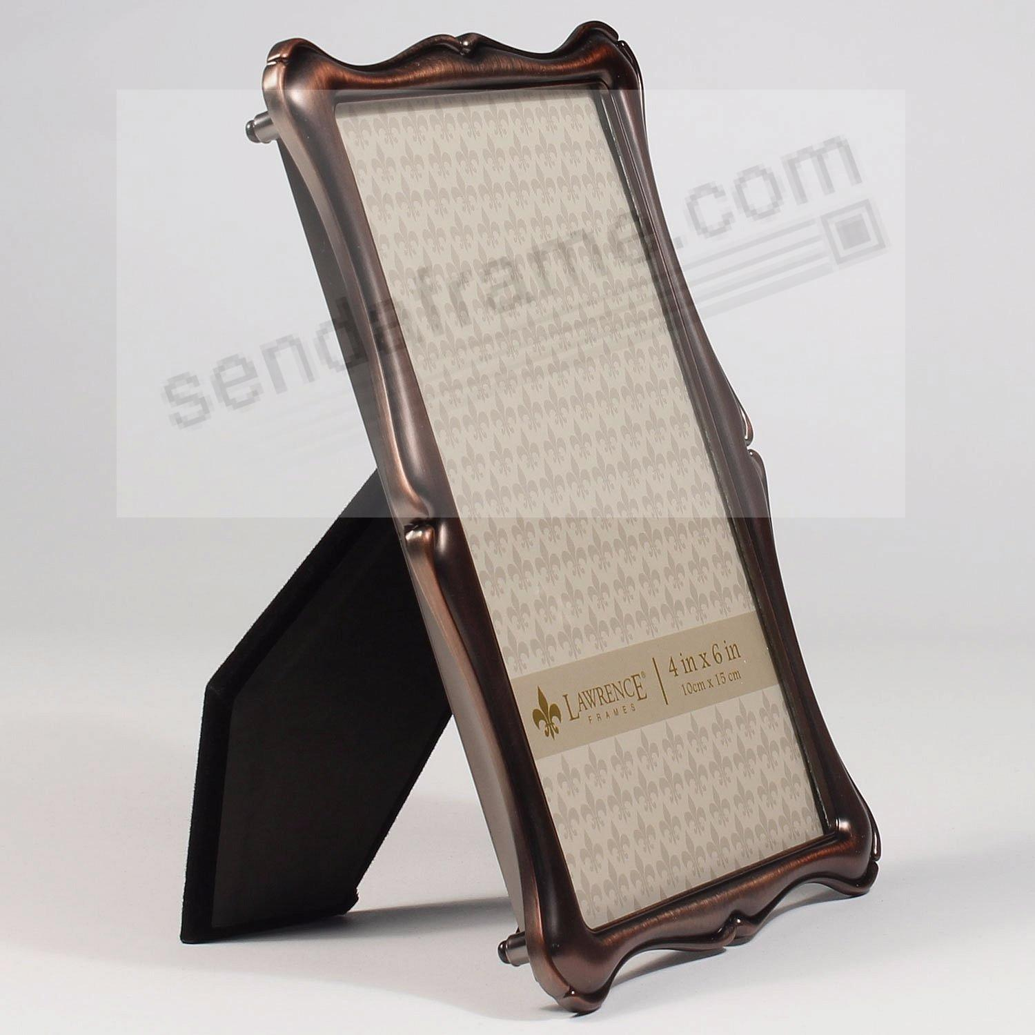 Oil Rubbed Bronze 4x6 Frame By Lawrence Frames Picture Frames