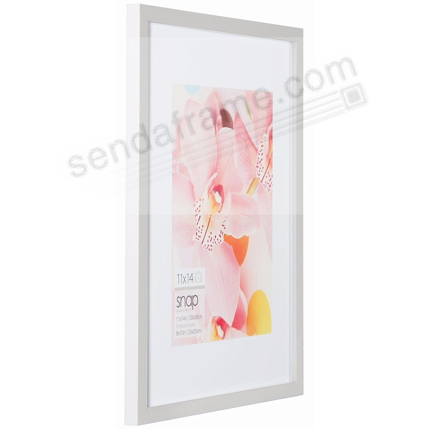 White Wood Frame 12x18 by SNAP™ - Picture Frames, Photo Albums ...