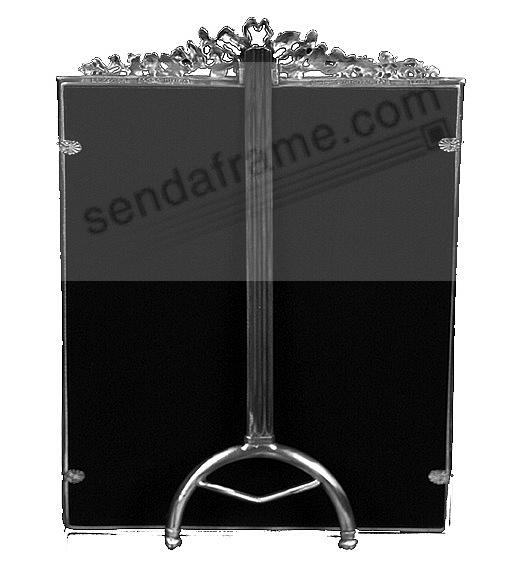 Reverse easel back (silver version)