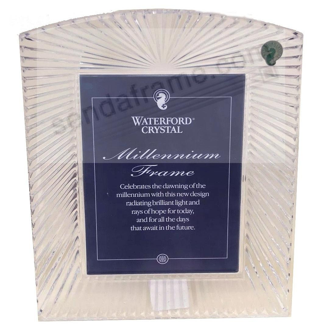 Waterford Crystal Millennium Pattern 5x7 Frame Picture Frames
