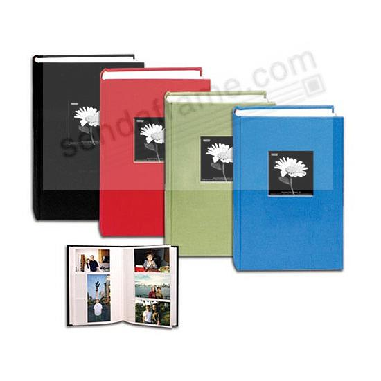 Apple Red Cloth Frame Cover 300 Pocket 3 Up Photo Album By Pioneer