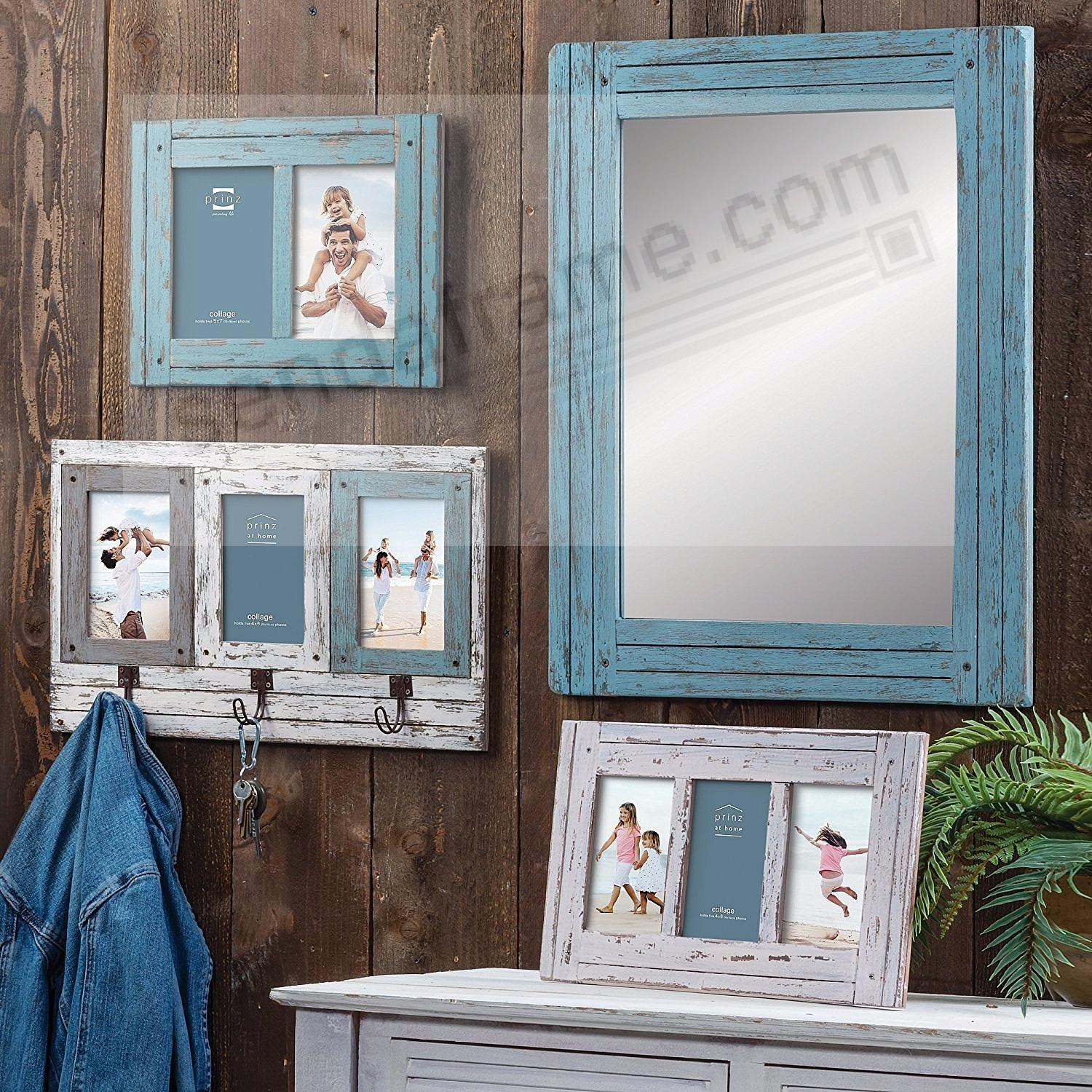 HOMESTEAD Antique White Wood Collage 4x6 Collage Frame by Prinz ...