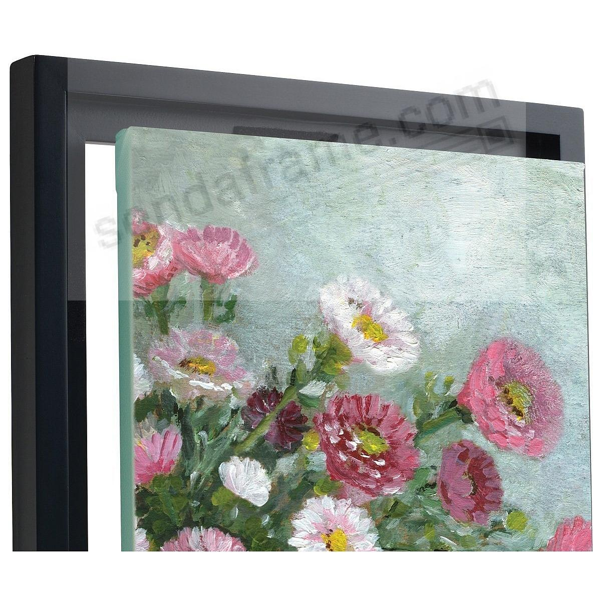 CANVAS DEPTH FLOAT FRAME 12x12 Black by MCS - Picture Frames, Photo ...
