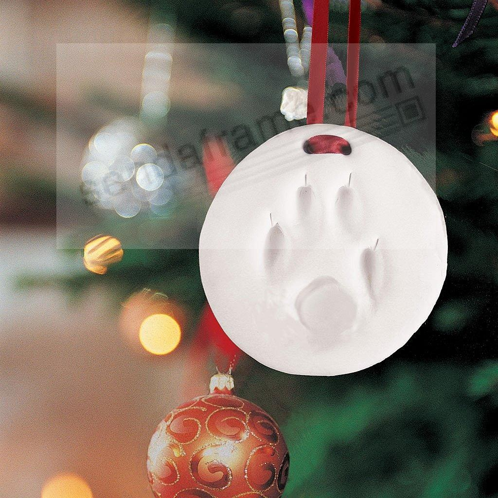 Pearhead® PAWPRINT Ornament for a One-of-a-Kind Christmas gift ...