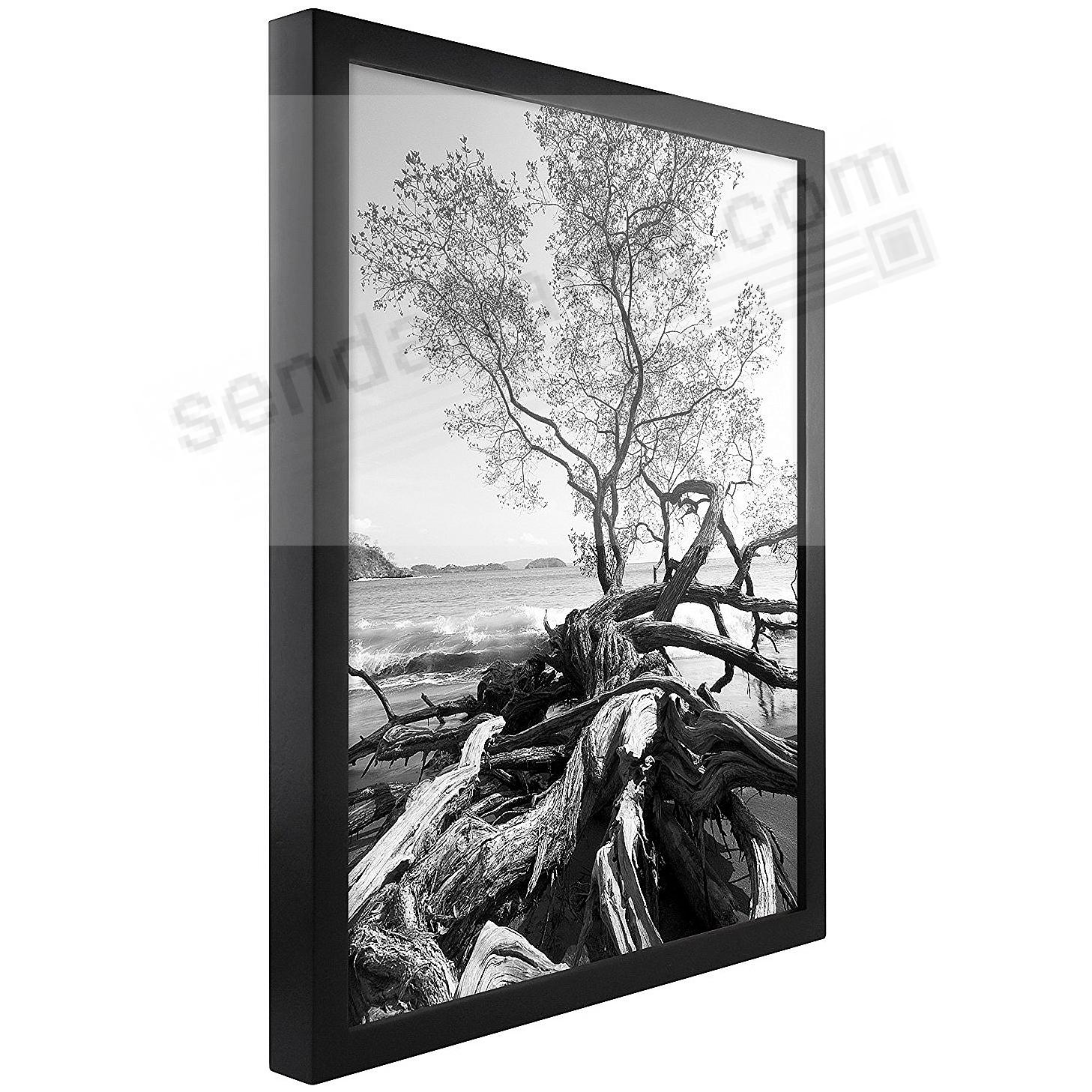 Art Shadow-Box 24x36 Walnut Wood frame by MCS® - 4 Pack - Picture ...