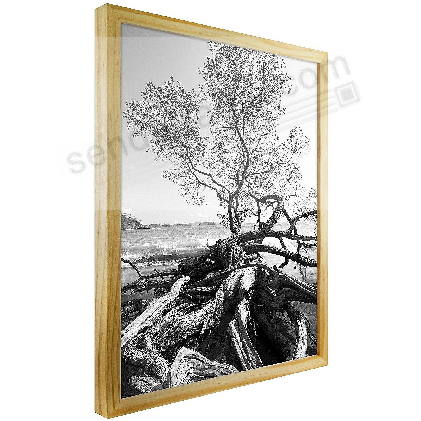 Art Shadow-Box 18x24 Natural Wood frame by MCS® - 2 Pack - Picture ...