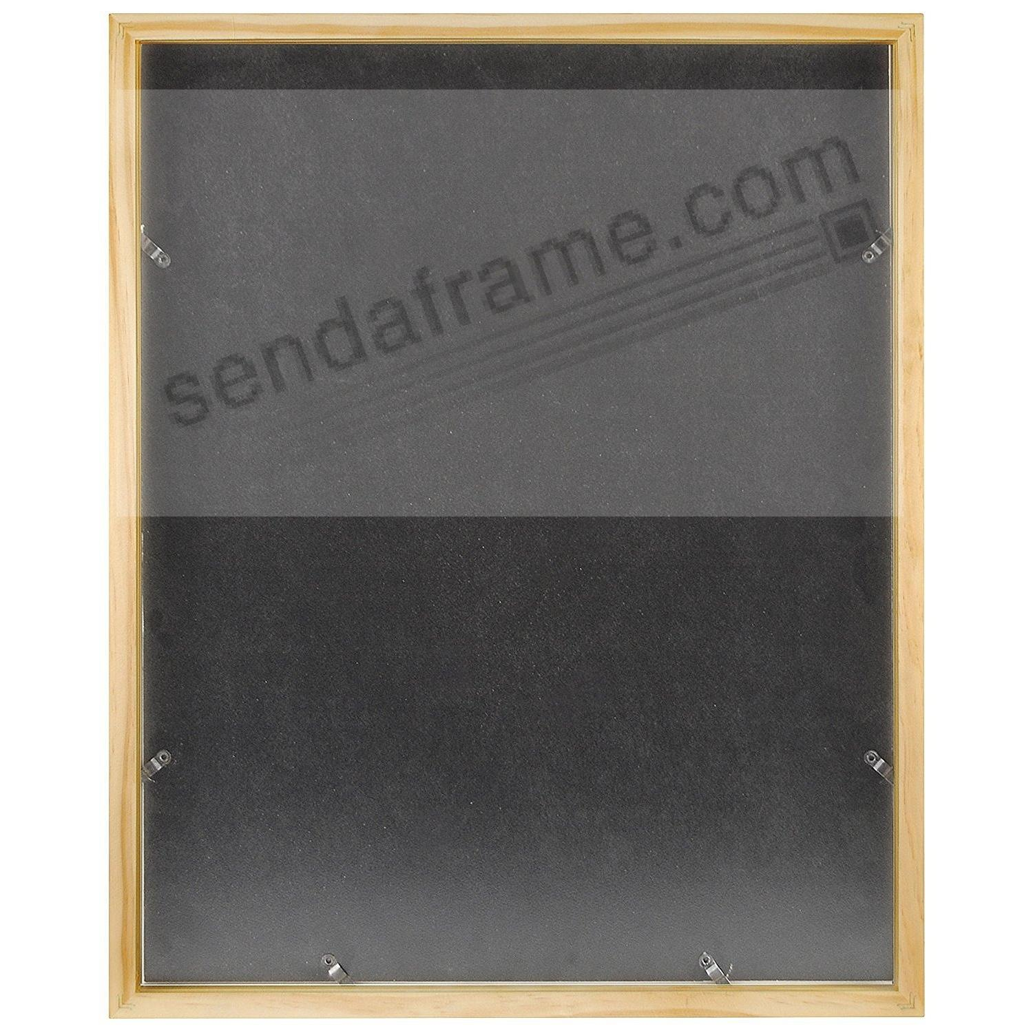 Art Shadow-Box 16x20/11x14 Natural Wood frame by MCS® - Picture ...