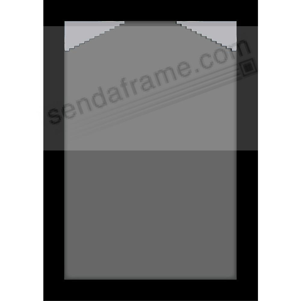 Black Wood Wall Frame Matted 16x2412x18 By Gallery Solutions