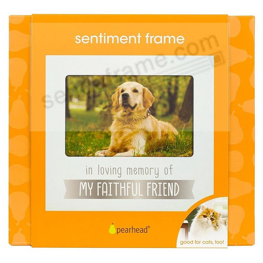 IN LOVING MEMORY PET White keepsake frame by Pearhead® - Picture ...