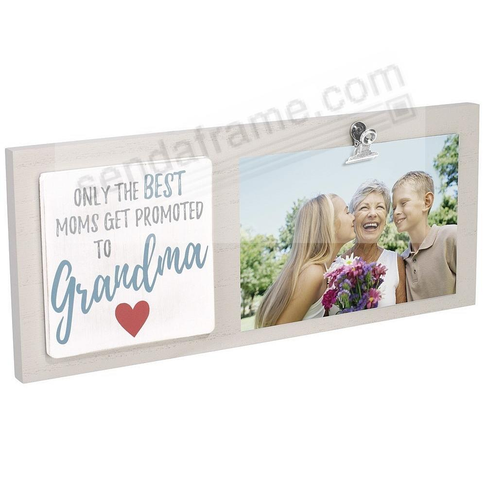 Best Moms Get Promoted To Grandma Clip Frame By Malden Picture