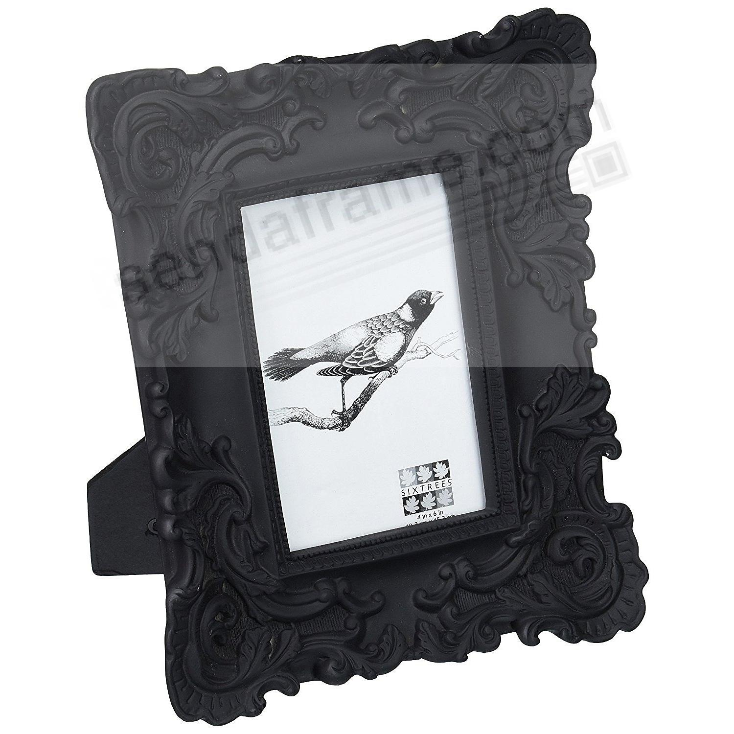 Black Baroque Frame By Sixtrees
