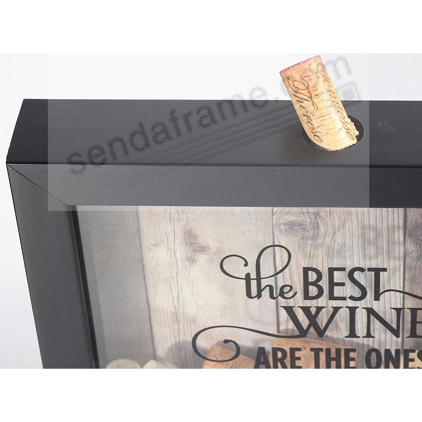 Corks insert easily