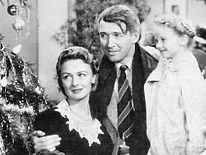From the Hollywood Film: It's A Wonderful Life starring James Stewart and Donna Reed