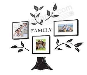 family tree set wall collage by burnes of boston picture frames photo albums personalized. Black Bedroom Furniture Sets. Home Design Ideas