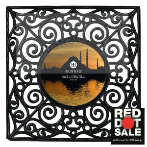 Sunburst 4x4 Tabletop Frame By Burnes Of Boston Picture Frames