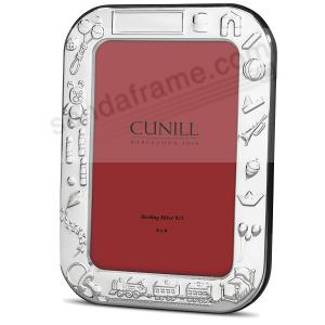 Luxe Sterling Silver Toys Baby Frame By Cunill Picture Frames