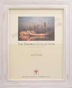 Distressed White Finish 11x14 Frame By Dennis Daniels Picture