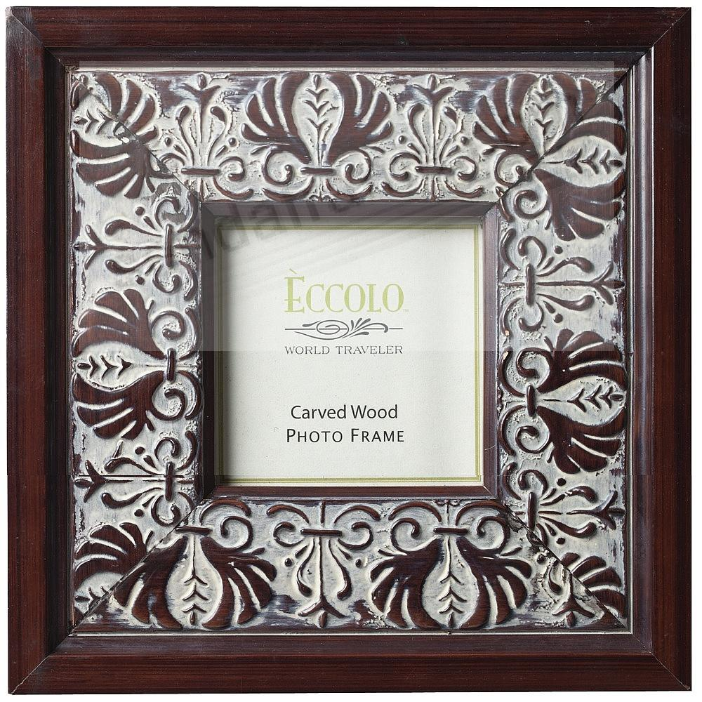 ACANTHUS Carved Wood 3x3 frame by Eccolo™ - Picture Frames