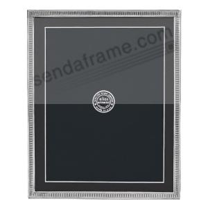 Line By Line Fine Silvered Pewter Frame 8x107x9 By Elias Artmetal