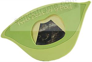 Two Peas In A Pod Ultrasound Frame Picture Frames Photo Albums