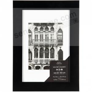 Black Wood Wall Frame 8x126x8 Matted By Gallery Solutions