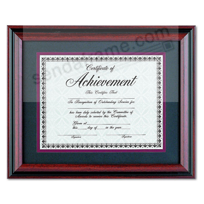 Rosewoodblack certificate fancy double mat 14x1111x8 frame by rosewoodblack certificate fancy double mat 14x1111x8 frame by dax jeuxipadfo Choice Image