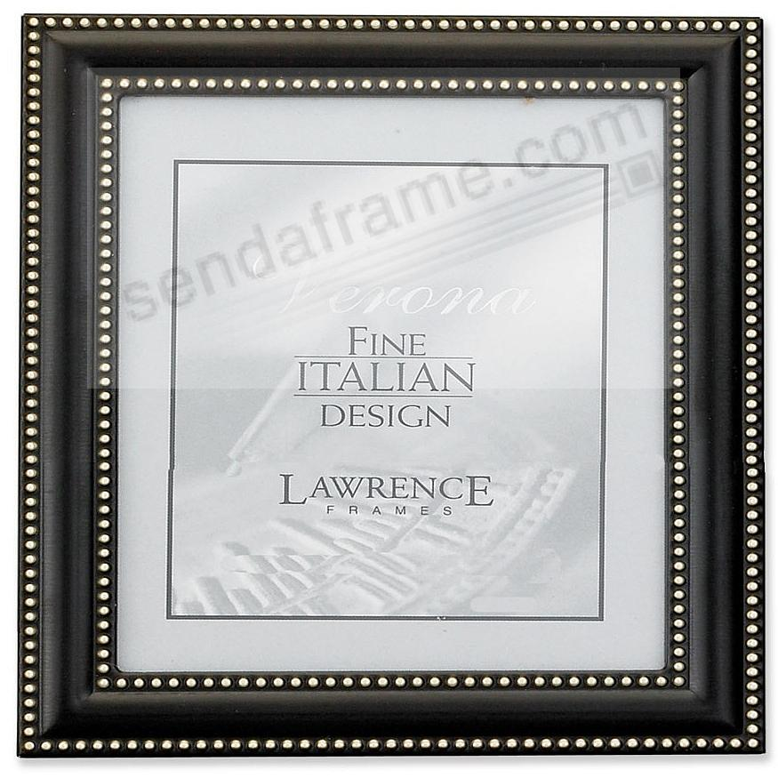 Oil Rubbed Bronze Swiss Dot 5x5 Frame By Lawrence Frames Picture