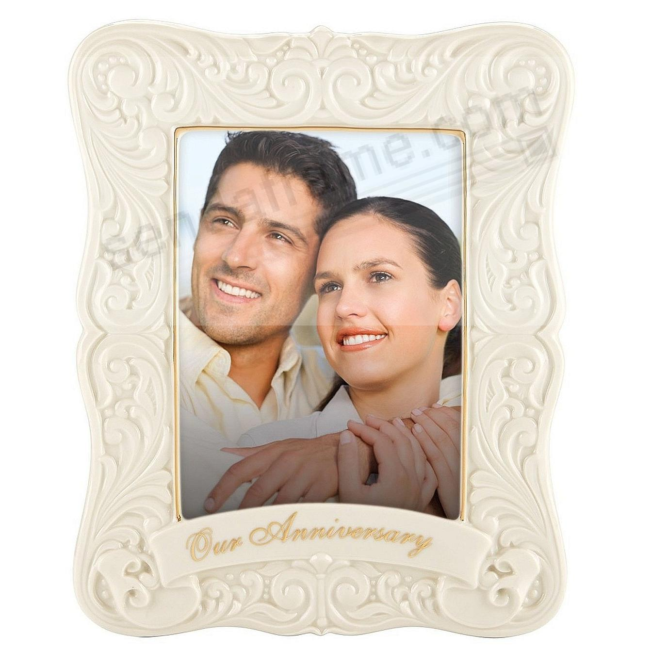 The Lenox® ANNIVERSARY 5x7 Frame - Picture Frames, Photo Albums ...