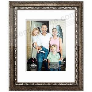 Silver Stafford Portrait Matted 10x1311x1416x20 Stepped Mat Frame