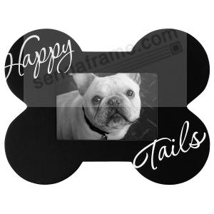 Happy Tails Bone Frame Perfect For Any Dog Lover Picture Frames