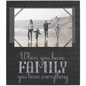 Family Black Cord Frame Sign By Malden Picture Frames Photo