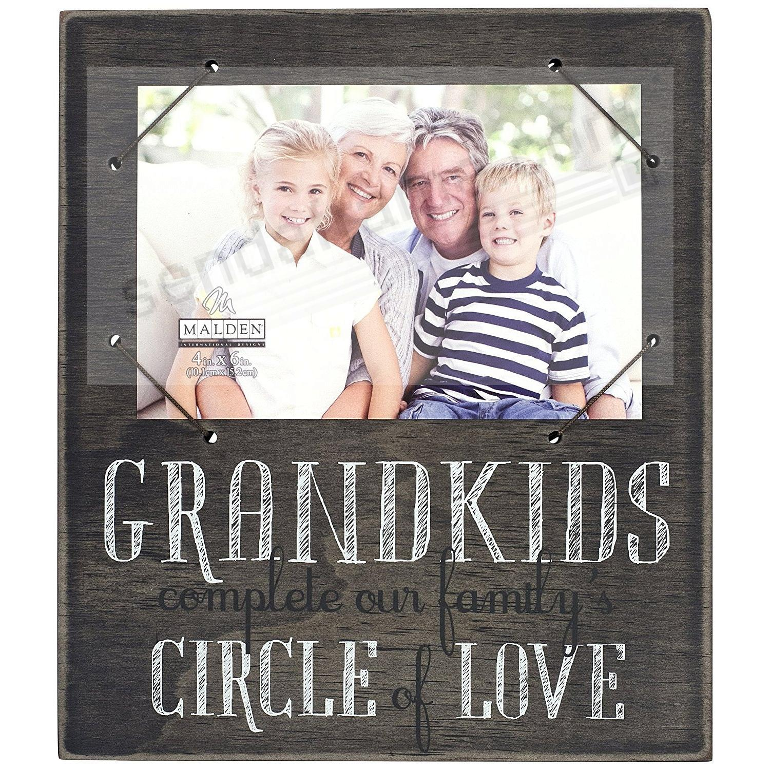 GRANDKIDS CIRCLE OF LOVE Frame Sign by Malden® - Picture Frames ...