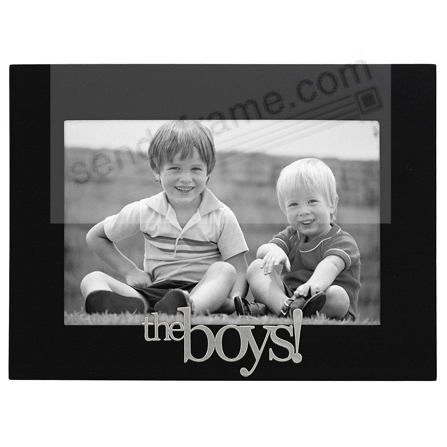 THE BOYS! Black Wood Expressions 6x4 frame - Picture Frames, Photo ...