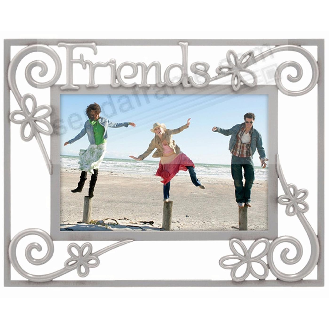 Pewter FRIENDS frame by Malden® - Picture Frames, Photo Albums ...