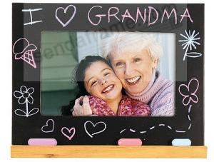 I Love Grandma Chalkboard Special Frame By Malden Picture Frames