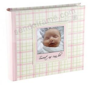 Baby Girl Photo Album Brag Book For 1 Up Prints By Malden