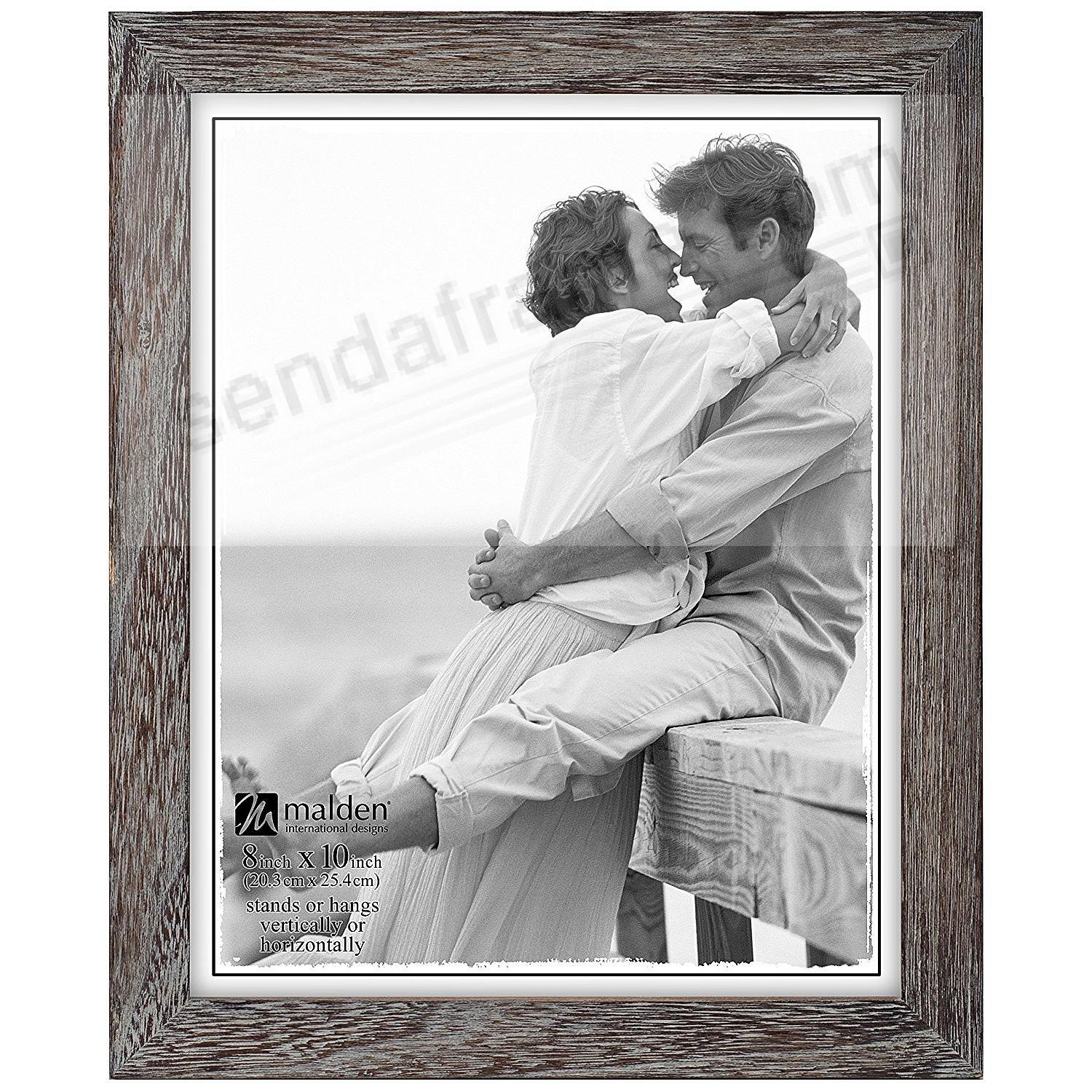 GRAY RIDGE LINEAR Wood 8x10 frame by Malden® - Picture Frames, Photo ...