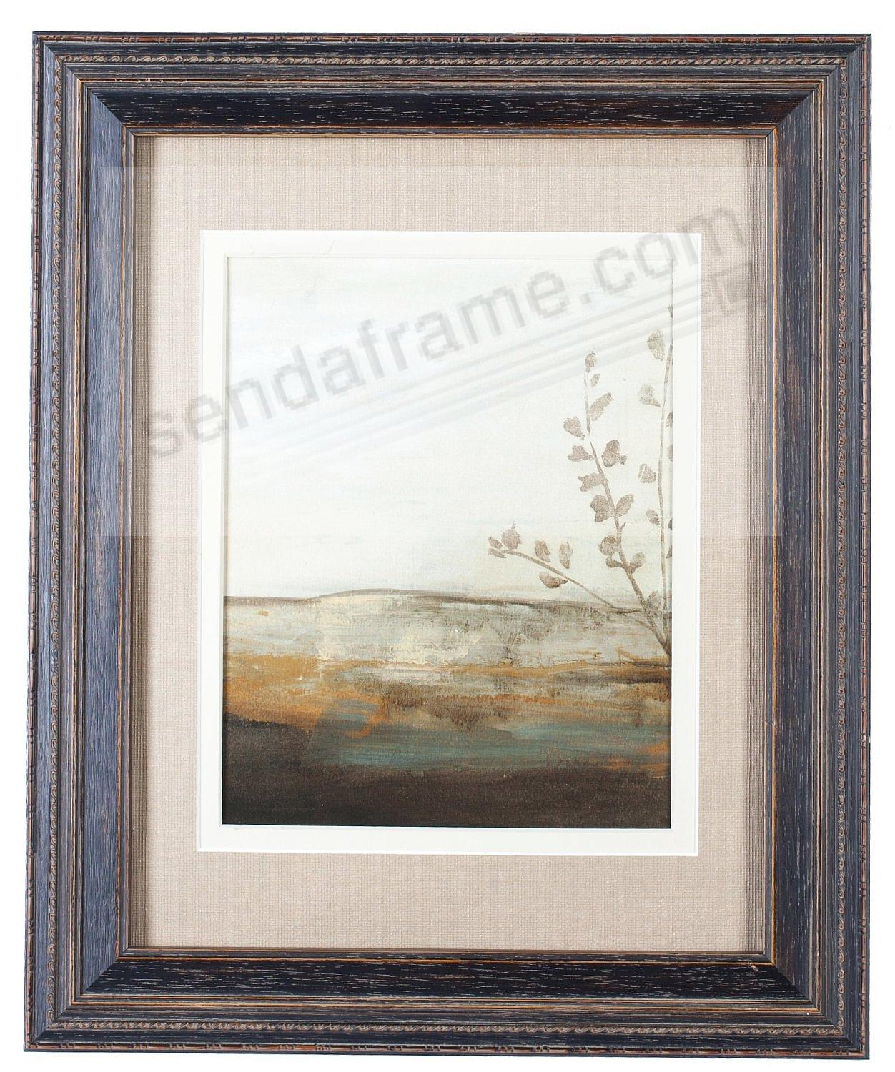 Distressed Brown MILAN matted wood frame 8x10/5x7 from ARTCARE by ...