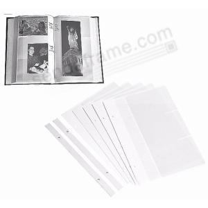 Genuine Pioneer Bi Directional Photo Album Page Refills Picture